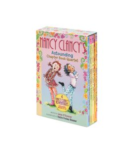 Fancy Nancy: Nancy Clancy's Astounding Chapter Book Quartet