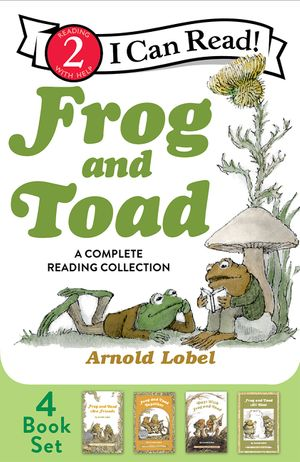 Frog and Toad: A Complete Reading Collection book image