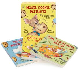 Mouse Cookie Delights: 3 Board Book Bites