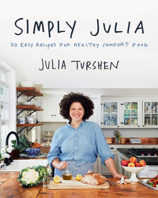 Book cover image: Simply Julia: 110 Easy Recipes for Healthy Comfort Food