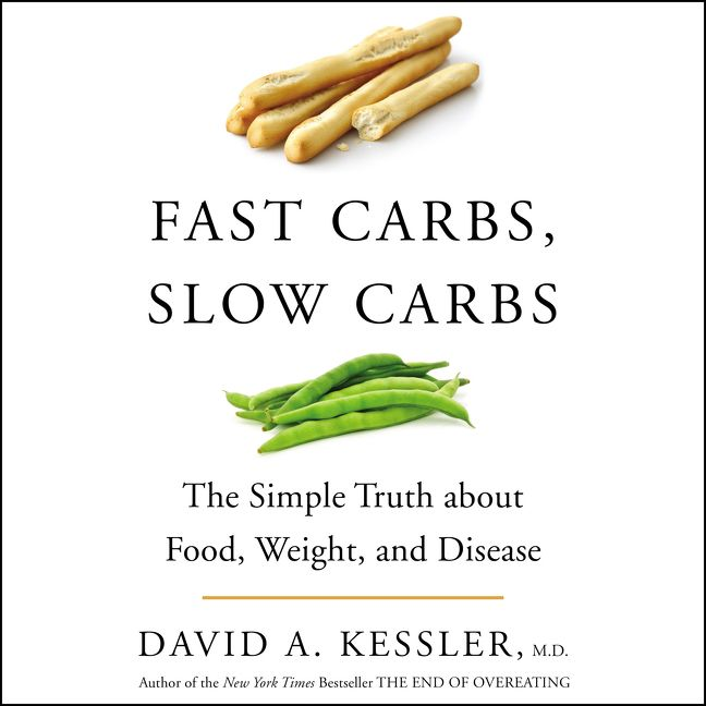 Book cover image: Fast Carbs, Slow Carbs: The Simple Truth about Food, Weight, and Disease