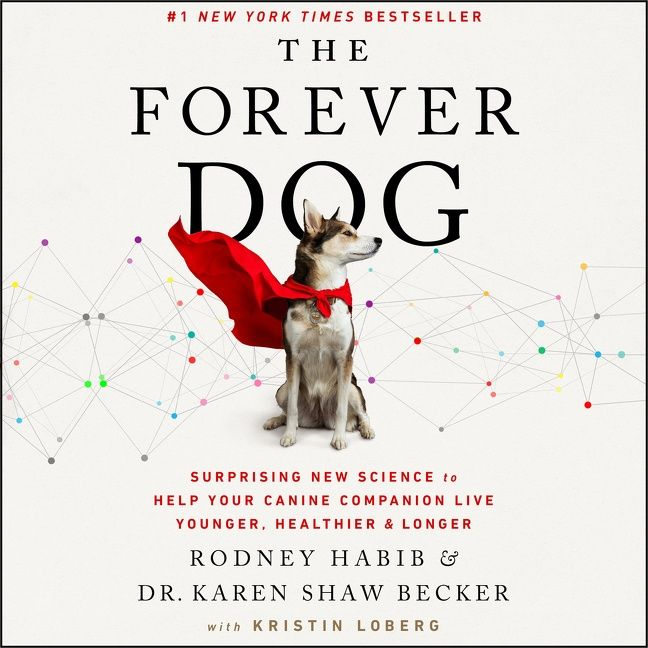 Book cover image: The Forever Dog: Surprising New Science to Help Your Canine Companion Live Younger, Healthier, and Longer | #1 New York Times Bestseller | Wall Street Journal Bestseller | USA Today Bestseller | International Bestseller | National Bestseller
