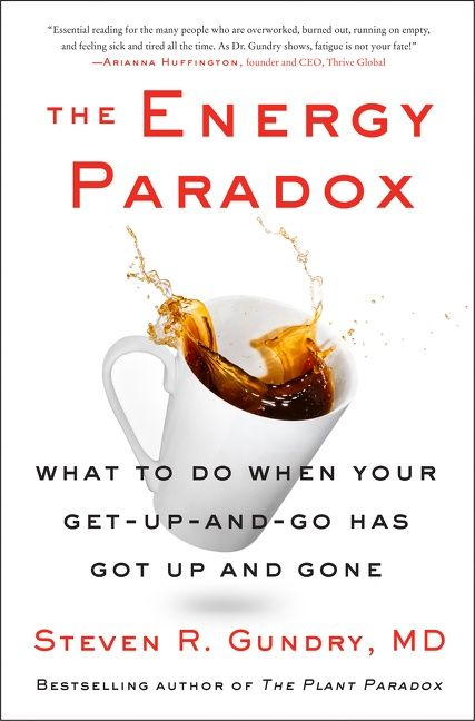 Book cover image: The Energy Paradox: What to Do When Your Get-Up-and-Go Has Got Up and Gone