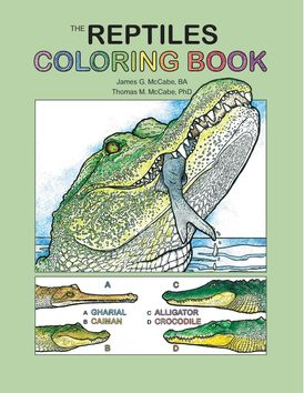 The Reptiles Coloring Book