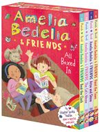 Amelia Bedelia & Friends Chapter Book Boxed Set #1: With Bells On