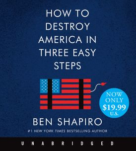 How to Destroy America in Three Easy Steps Low Price CD