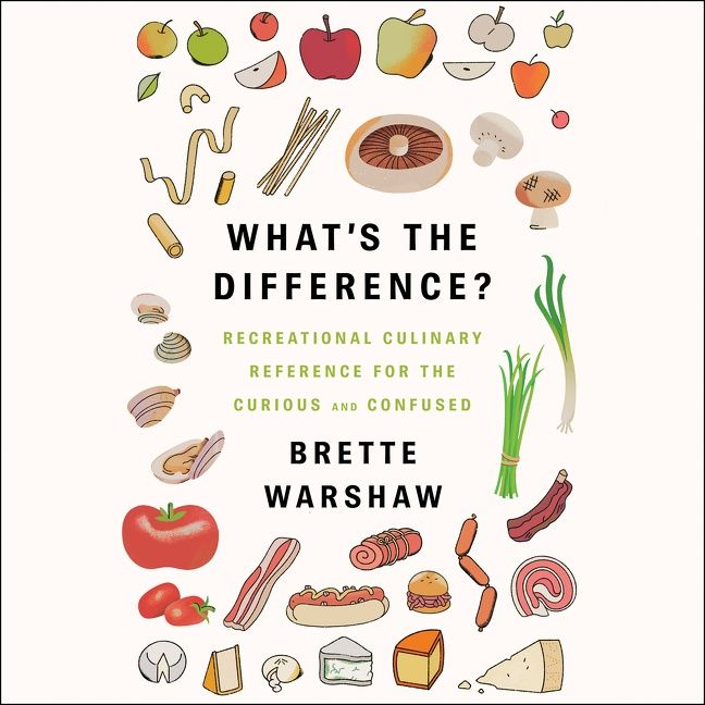 Book cover image: What's the Difference?: Recreational Culinary Reference for the Curious and Confused