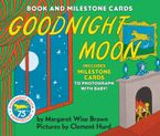Goodnight Moon Board Book with Milestone Cards