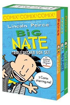 Big Nate: Triple Decker Box Set