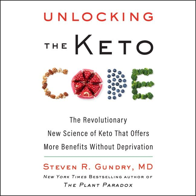 Book cover image: Unlocking the Keto Code: The Revolutionary New Science of Keto That Offers More Benefits Without Deprivation