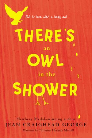 There's an Owl in the Shower book image