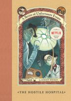 A Series of Unfortunate Events #8: The Hostile Hospital Hardcover  by Lemony Snicket