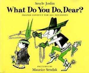 What Do You Do, Dear? book image