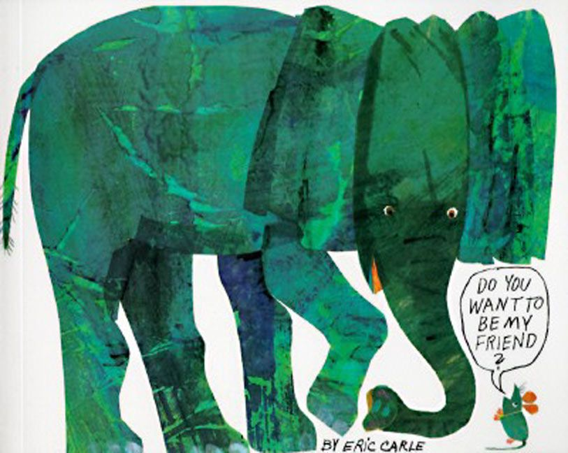 Do You Want To Be My Friend Eric Carle Paperback