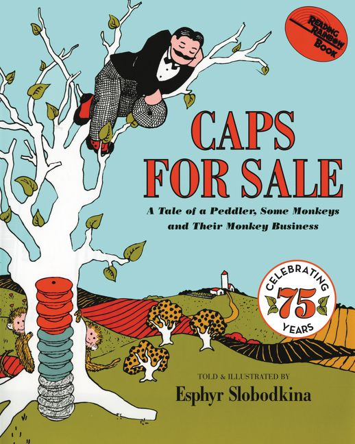 Classic Book Covers For Sale ~ Caps for sale esphyr slobodkina paperback