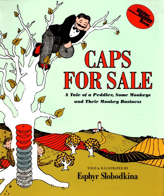 Book Cover Forros For Sale : Caps for sale big book esphyr slobodkina paperback