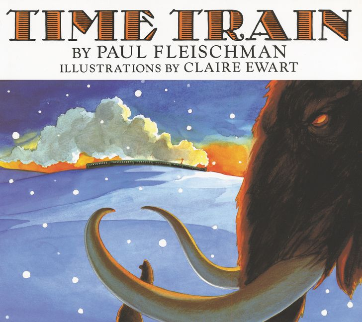 Time train paul fleischman paperback read a sample enlarge book cover fandeluxe Images