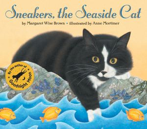 Sneakers, the Seaside Cat book image