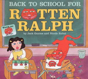 Back to School for Rotten Ralph book image