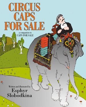 Circus Caps for Sale book image