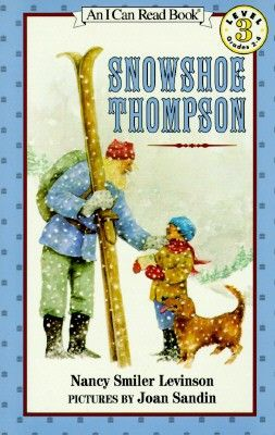 Image result for snowshoe thompson book