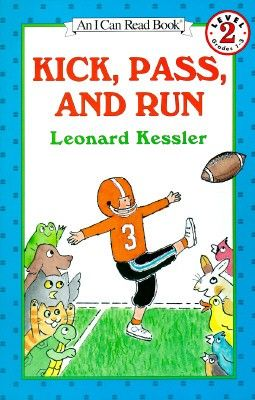 Kick, Pass, and Run book image