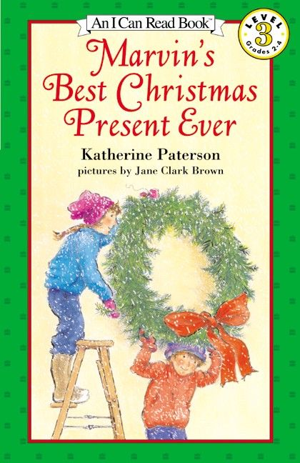 Best Book Cover Making Apps : Marvin s best christmas present ever katherine paterson