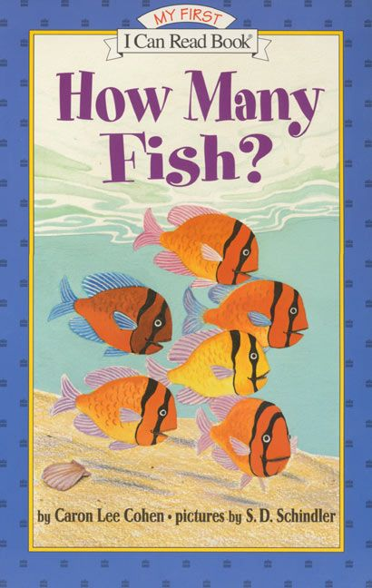 How many fish caron lee cohen paperback for Book with fish on cover