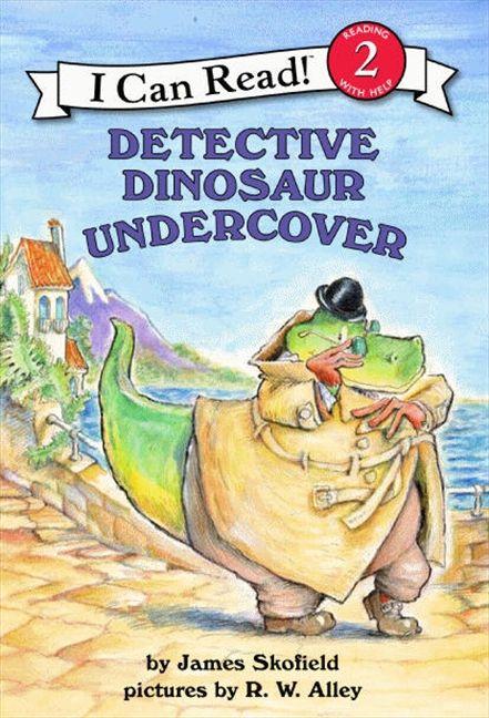 detective dinosaur undercover james skofield paperback