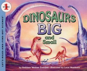 Dinosaurs Big and Small book image