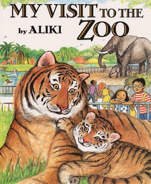 My Visit to the Zoo - Aliki - Paperback