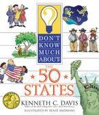 Don't Know Much About the 50 States Paperback  by Kenneth C. Davis