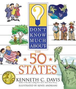 Don't Know Much About the 50 States book image