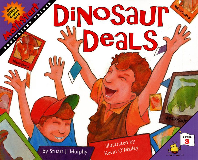 Dinosaur deals stuart j murphy heather henson paperback enlarge book cover fandeluxe Images