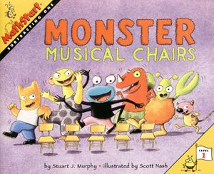 Monster Musical Chairs book image