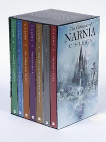 The Chronicles of Narnia Rack Paperback 7-Book Box Set