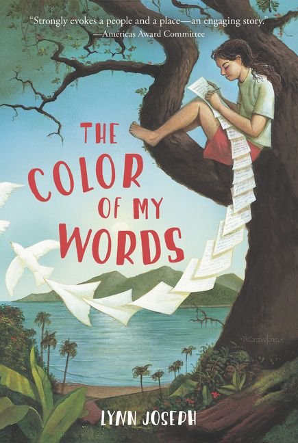 The Color of My Words - Lynn Joseph - Paperback