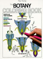 Botany Coloring Book Paperback  by Paul Young