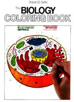 The Biology Coloring Book Paperback  by Robert D. Griffin