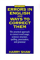 Errors in English and Ways to Correct Them
