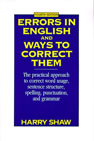 Errors in English and Ways to Correct Them book image