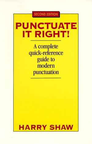 Punctuate It Right book image
