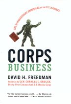 Book cover image: Corps Business: The 30 Management Principles of the U.S. Marines