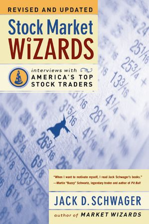 Book cover image: Stock Market Wizards: Interviews with America's Top Stock Traders