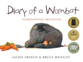 Cover image - Diary of a Wombat