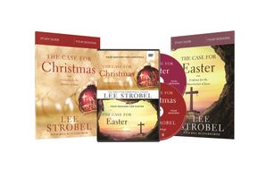 Case for Christmas/The Case for Easter Study Guides with DVD   by Lee Strobel