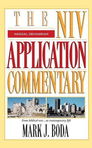 NIVAC 24: Haggai Zechariah