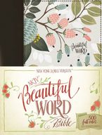 NKJV Beautiful Word Bible, Red Letter Edition: 500 Full-color Illustrated Verses [Multi-color Floral Cloth] - Zondervan,
