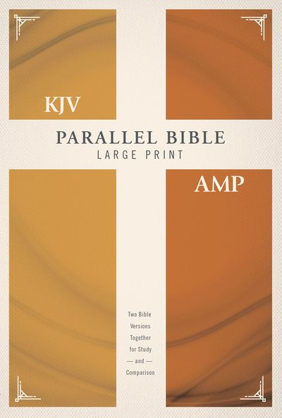 KJV Amplified Parallel Bible Red Letter Edition [Large Print]