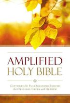 - Amplified Outreach Bible paperback: Capture The Full Meaning Behind TheOriginal Greek And Hebrew